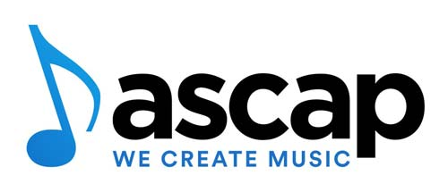 ASCAP Logo with we create music underneath